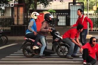 Youtuber Rusuh di Zebra Cross Kampanye Hak-hak Pejalan Kaki (Video)